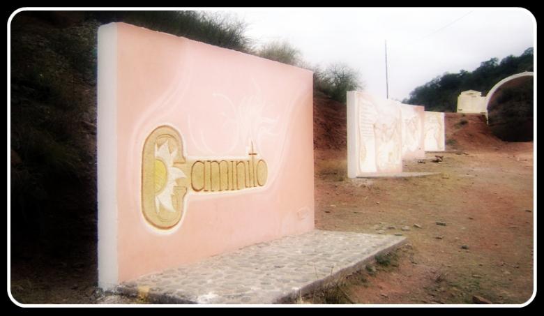 Monumento Caminito - Olta -La Rioja